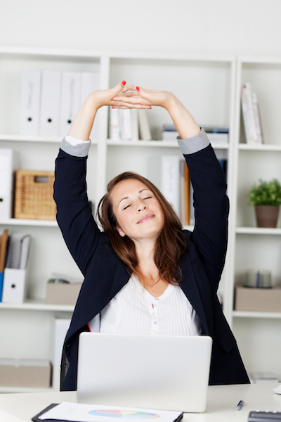 Avoid Desk Stress and Strain