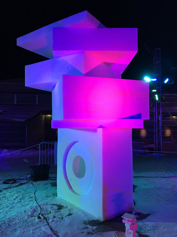 Breckenridge Snow Sculptures 2018