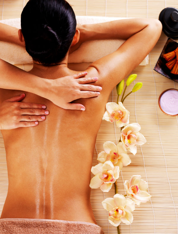 A massage for the bride will ensure a stress free wedding day
