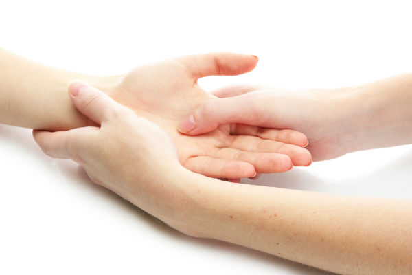 Hand and foot treatment in Breck