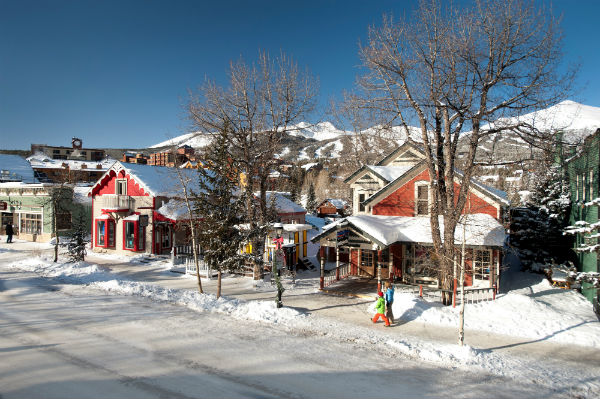 shopping in Breck